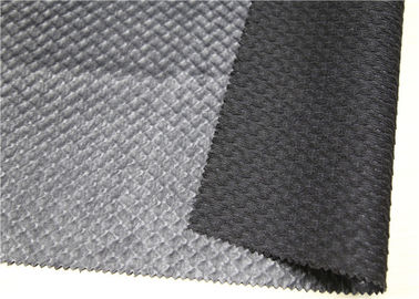 Waterproof Bonded Leather Upholstery Fabric 1.1 Mm Thickness Abrasion Resistant